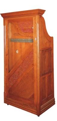A Wurlitzer Harp replica,