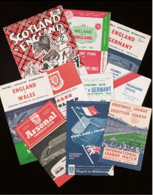 A COLLECTION OF ENGLAND HOME A