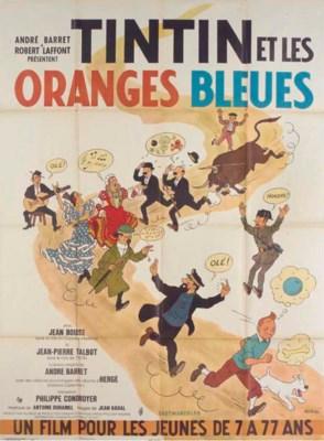 Tin Tin Et Les Oranges Bleues