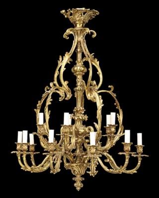A Continental gilt bronze fift