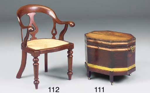 A VICTORIAN STAINED BEECH OPEN