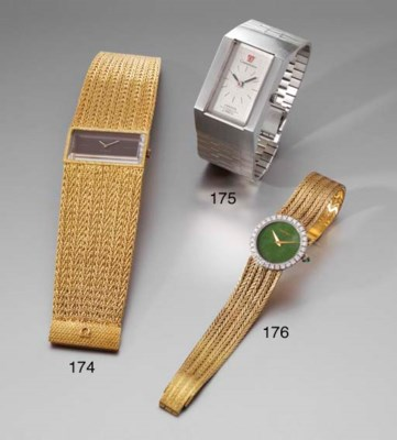 Piaget. An 18K two colour gold
