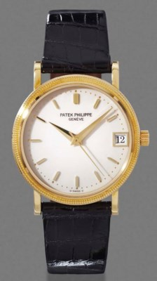 Patek Philippe. An 18K gold se