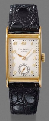 Patek Philippe. An 18K gold re