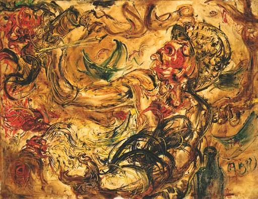 AFFANDI (Indonesia 1907-1990)