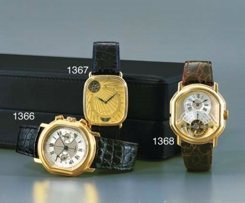 AUDEMARS PIGUET. AN 18K GOLD C