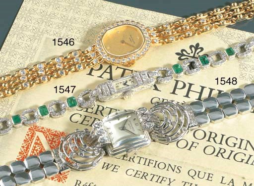 PATEK PHILIPPE. A LADY'S PLATI
