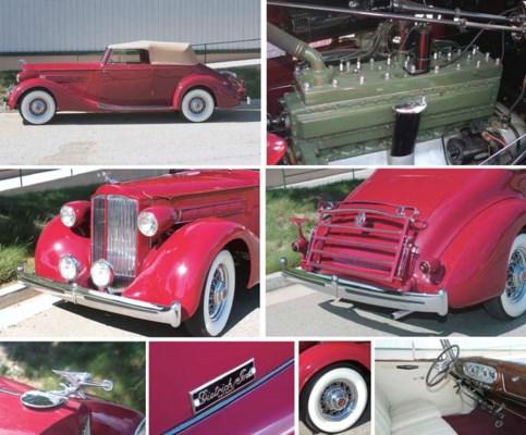 1935 PACKARD MODEL 1201 CONVER
