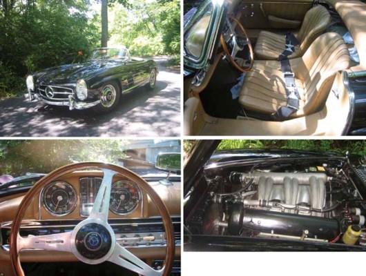 1962 MERCEDES-BENZ 300SL ROADS