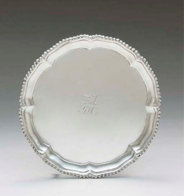 AN IMPORTANT SILVER SALVER
