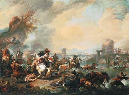 Jan Wyck (Haarlem 1640-1702 Mo
