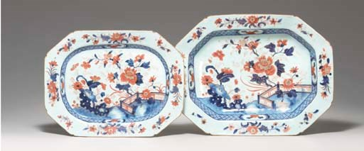 A CHINESE IMARI BASIN AND PLAT