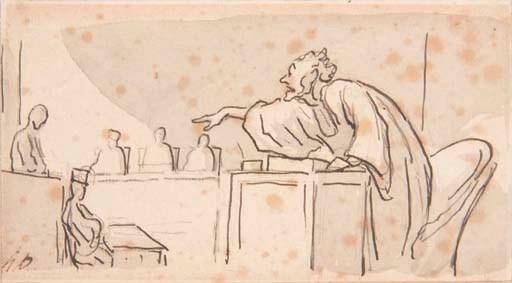 Honoré Daumier (Marseilles 180