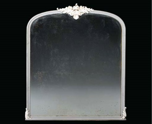 A LOUIS XV STYLE IVORY AND GRE