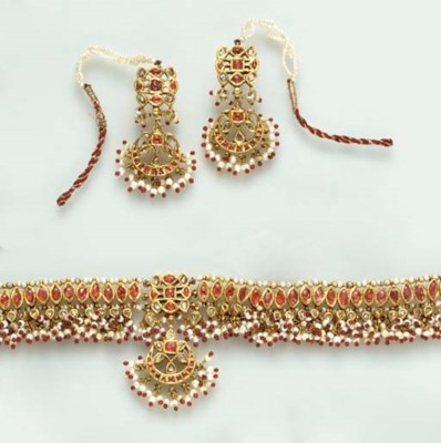 A SUITE OF INDIAN RUBY, SEED P