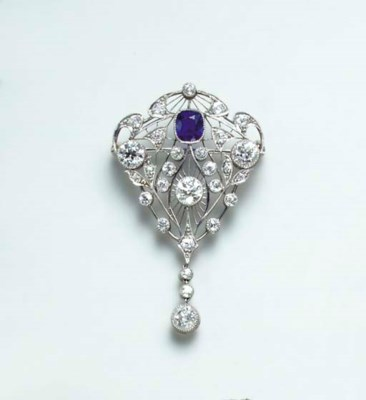 A BELLE EPOQUE DIAMOND, SAPPHI