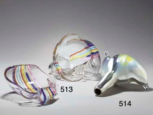 'SKETCH', A BLOWN GLASS SCULPT