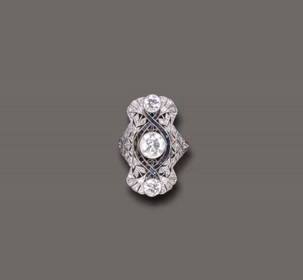 A BELLE EPOQUE DIAMOND AND SIM