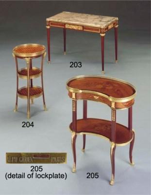 A Louis XVI style mahogany, sa