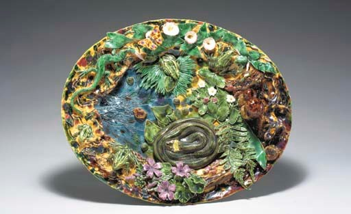 A CONTEMPORARY PALISSY STYLE T