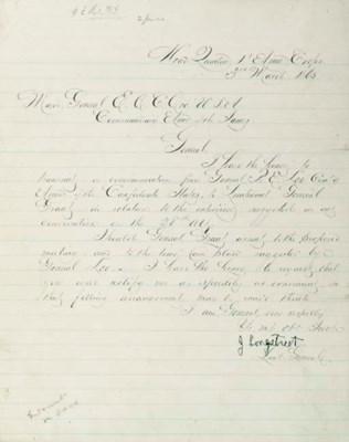 LONGSTREET, James, General, C.