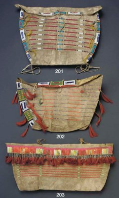A SIOUX BEADED HIDE POSSIBLE B