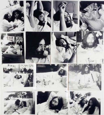 JOHN LENNON PHOTOGRAPHS FROM '