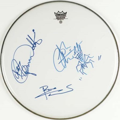 THE WHO SIGNED DRUMHEAD