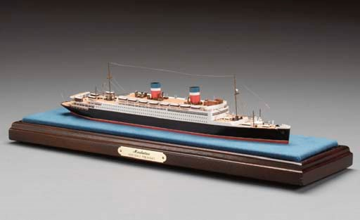 A scale waterline model of the
