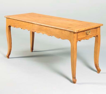 A FRENCH PROVINCIAL FRUITWOOD