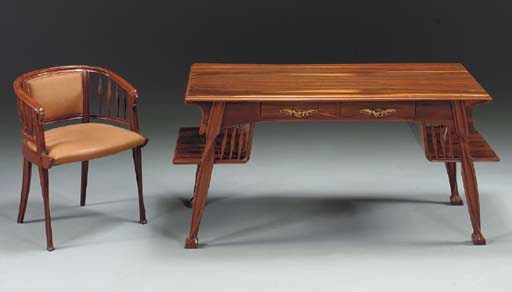 A CARVED ROSEWOOD AND MAHOGANY