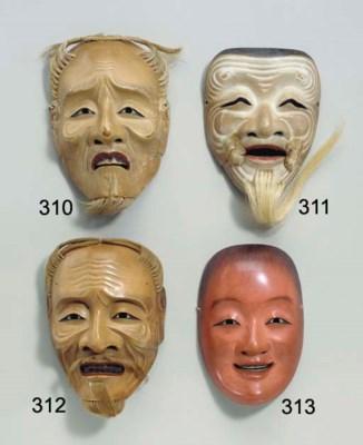 Noh Mask of Okina (Hakushikijo
