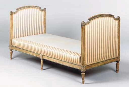 A LOUIS XVI STYLE GREY AND GRE