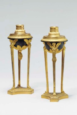 A PAIR OF LOUIS XVI STYLE PATI