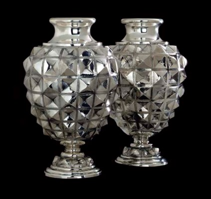 A PAIR OF SILVER VESSELS, BY N