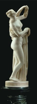 An Italian marble figure of th