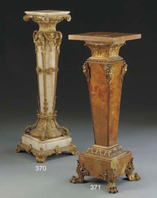 A French ormolu-mounted rosso