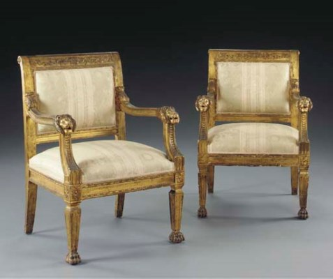 A pair of Italian Neoclassic s