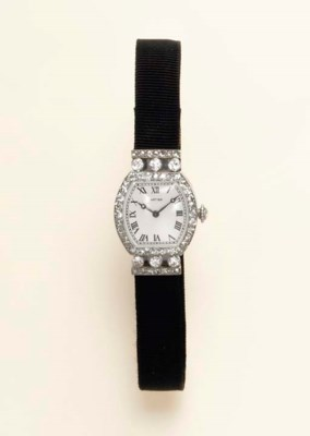 A BELLE EPOQUE DIAMOND WRISTWA