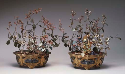 A PAIR OF CHINESE JADE, HARDST