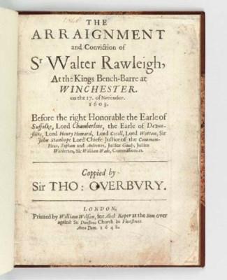 [RALEIGH, Sir Walter (ca 1552-