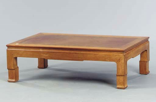 A CHINESE LOW TABLE,