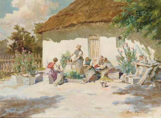 Agoston Acs (Hungarian, 1881-1