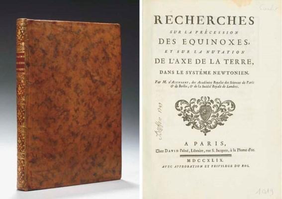 ALEMBERT, Jean Le Rond d' (171