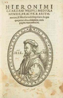 CARDAN, Jérôme (1501-1576). Pr