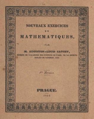CAUCHY, Augustin-Louis, baron