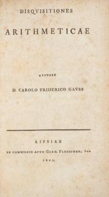 GAUSS, Carl Friedrich (1777-18