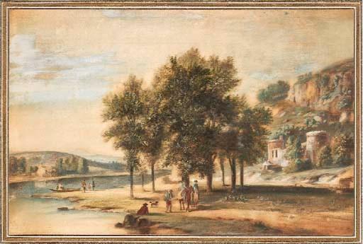 Ecole Française, 18ème siècle