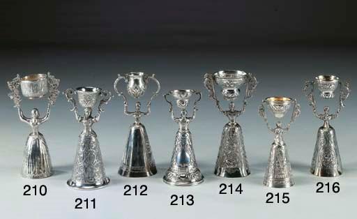 Coppa dell'amore in argento do