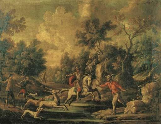 Scuola italiana, secolo XVII,